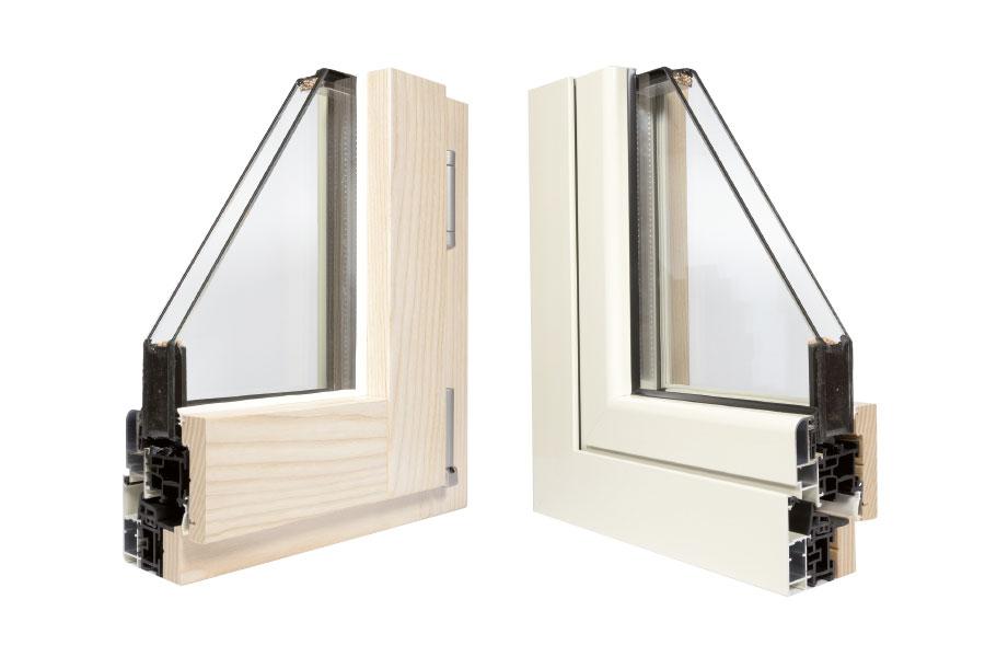 Migliori infissi legno alluminio - Finestre legno e alluminio ...