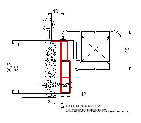 Novit per persiane e scuri con telaio for Un telaio interno